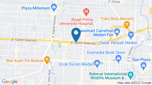 Four Points by Sheraton Medan Map