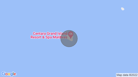 BEACH SUITE - KING Maldives Map