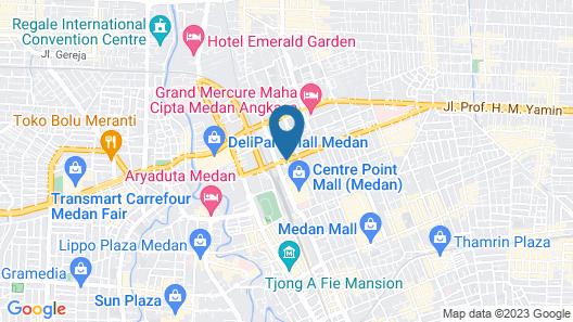 Grand Sakura Hotel Map