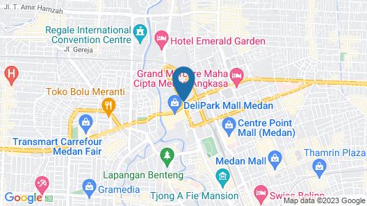 JW Marriott Hotel Medan Map