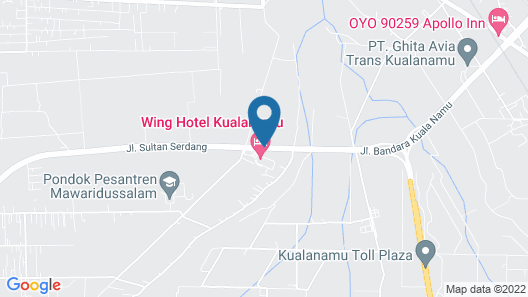 The Crew Hotel Kualanamu International Airport Map