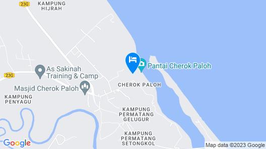 OYO 90135 Saujana Villa Cherok Paloh Map