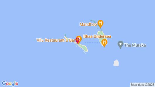 Conrad Maldives Rangali Island Map