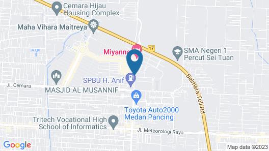 Miyana Hotel Map