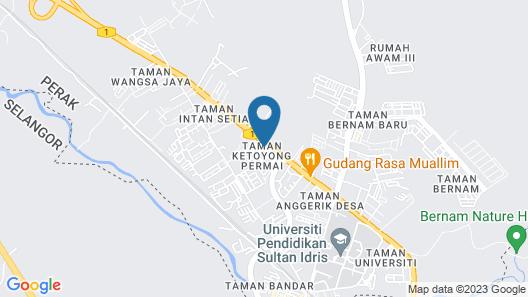 LP Hotel Tanjong Malim Map