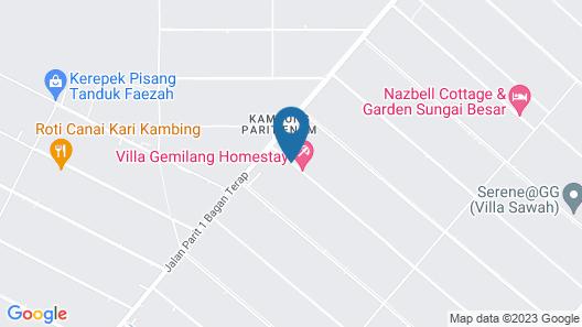D'Sawah Bendang Homestay Map