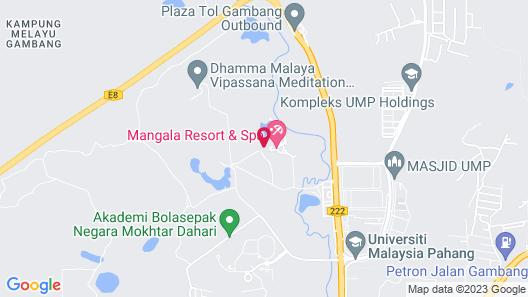 Mangala Resort & Spa Map