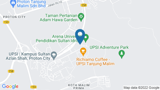 Hotel Scholar's Suites Map