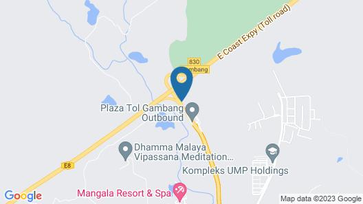 Arabian Bay Resort - Bukit Gambang Resort City Map