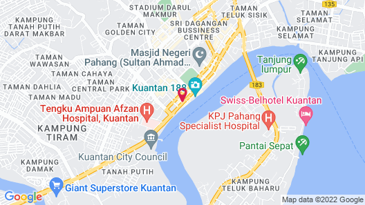 Hotel Sentral Kuantan Map