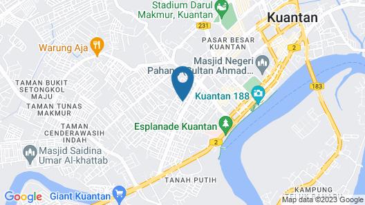 Teruntum 96 Guesthouse Map