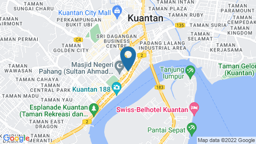 E-RED Hotel Sdn Bhd Map