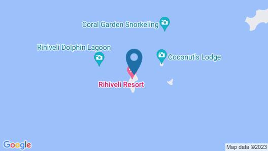 Rihiveli Maldives Resort Map
