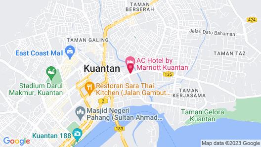 AC Hotel by Marriott Kuantan Map
