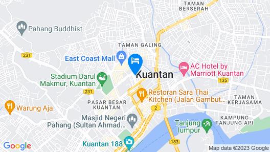 Rocana Hotel Map