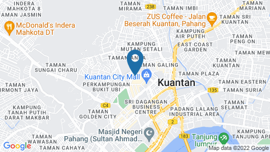 The Zenith Hotel Map