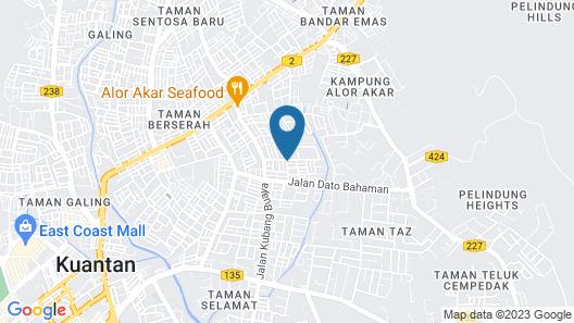 W Inn by Yolodge Map