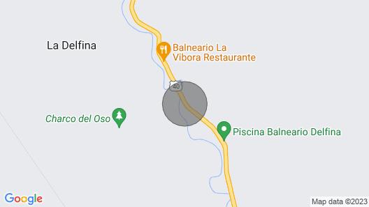 Amplio Chalet El Altico Map