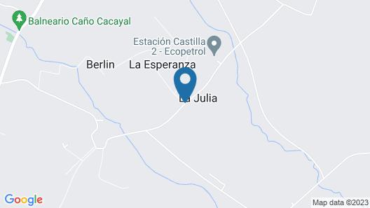 Tierralinda Finca Cottage Map