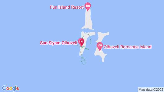 Sun Siyam Olhuveli Map