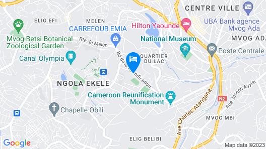 Liza Hôtel Map