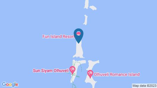 Fun Island Resort & Spa Map