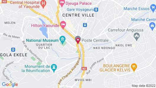 Best appart - Yaounde Map