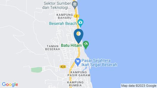 Mandurah Hotel Map