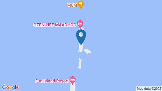 OZEN LIFE MAADHOO - A Luxury All-Inclusive Resort Map
