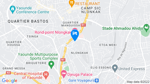 Hotel Franco Map