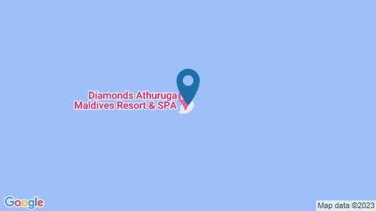 Diamonds Athuruga Beach & Water Villas All Inclusive Map
