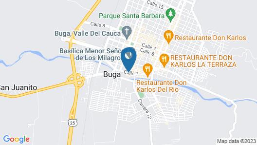Hotel Guadalajara Map