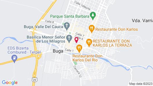 Chrisban Hotel Boutique Map
