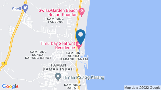 TimurBay Beach Resort By SubHome Map