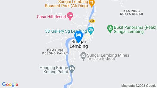 Time Capsule Retreat Map