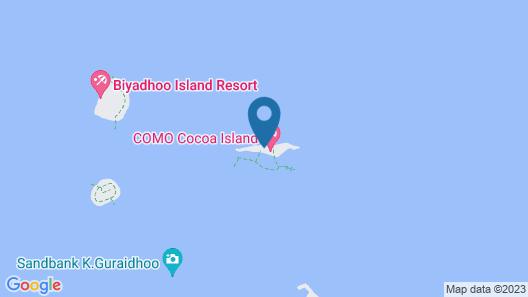 COMO Cocoa Island Map