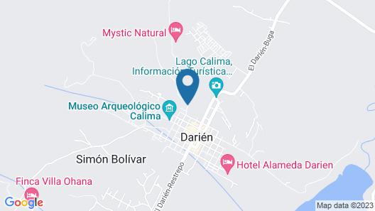 Chalet Calima Map