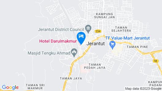 Hotel Darul Makmur Map