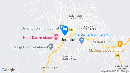 Town Inn Hotel Map