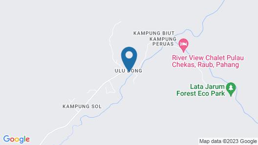 Tanah Aina Fahad - Hostel Map