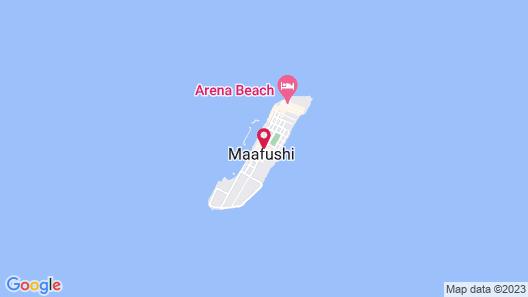 Kokaa Maafushi Map