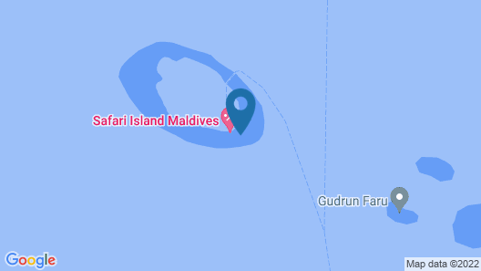 Safari Island Resort Map