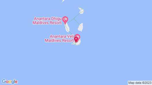 Anantara Veli Maldives Resort - Adults Only Map