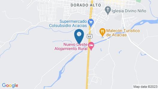 Las Pampas Hotel Campestre Map