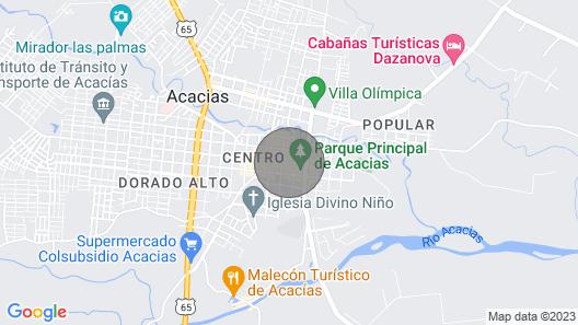 Casa Hotel La Noninga 1 Map