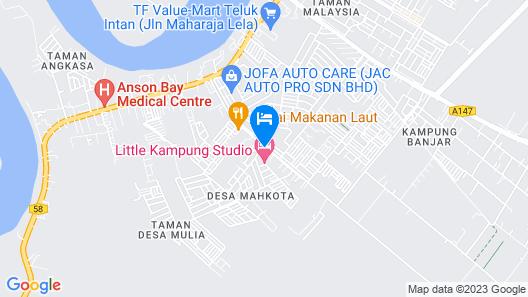 Little Kampung Studio Map