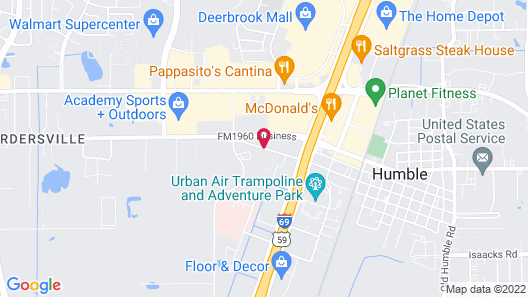 Days Inn by Wyndham Humble/Houston Intercontinental Airport Map
