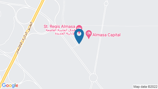 The St. Regis Almasa Hotel, New Administrative Capital Map