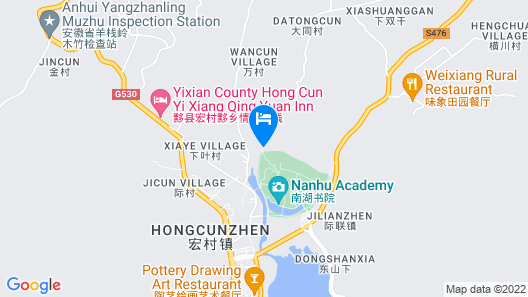 Qing He Yue International Youth Hostel Map