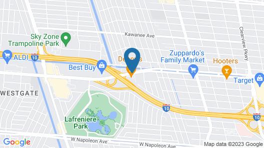 La Quinta Inn by Wyndham New Orleans Veterans / Metairie Map